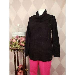 Rue 21 | Black Cowl Neck Sweater